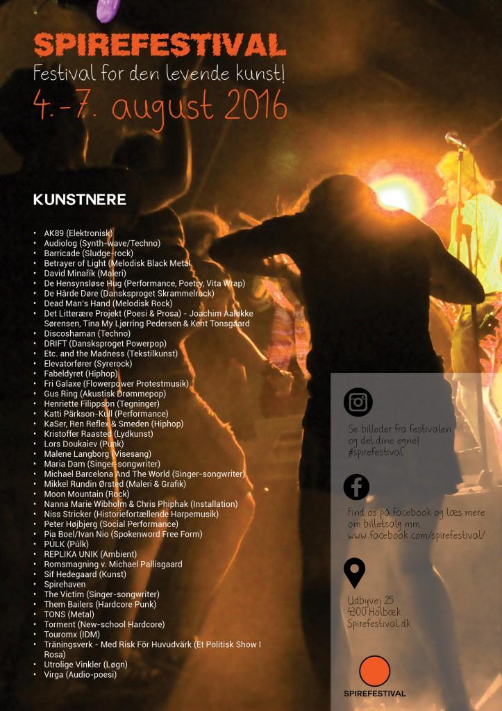 Spirefestival2016-plakat, PRINT