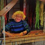 Vibeke Volf udstiller tæpper af klude i Huset fra 6. november
